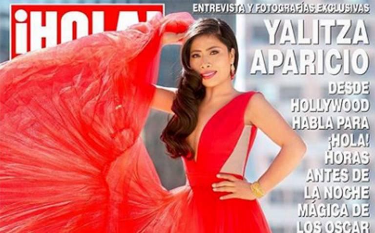 Rumbo al Oscar: Yalitza Aparicio deslumbra en la portada de ¡Hola!