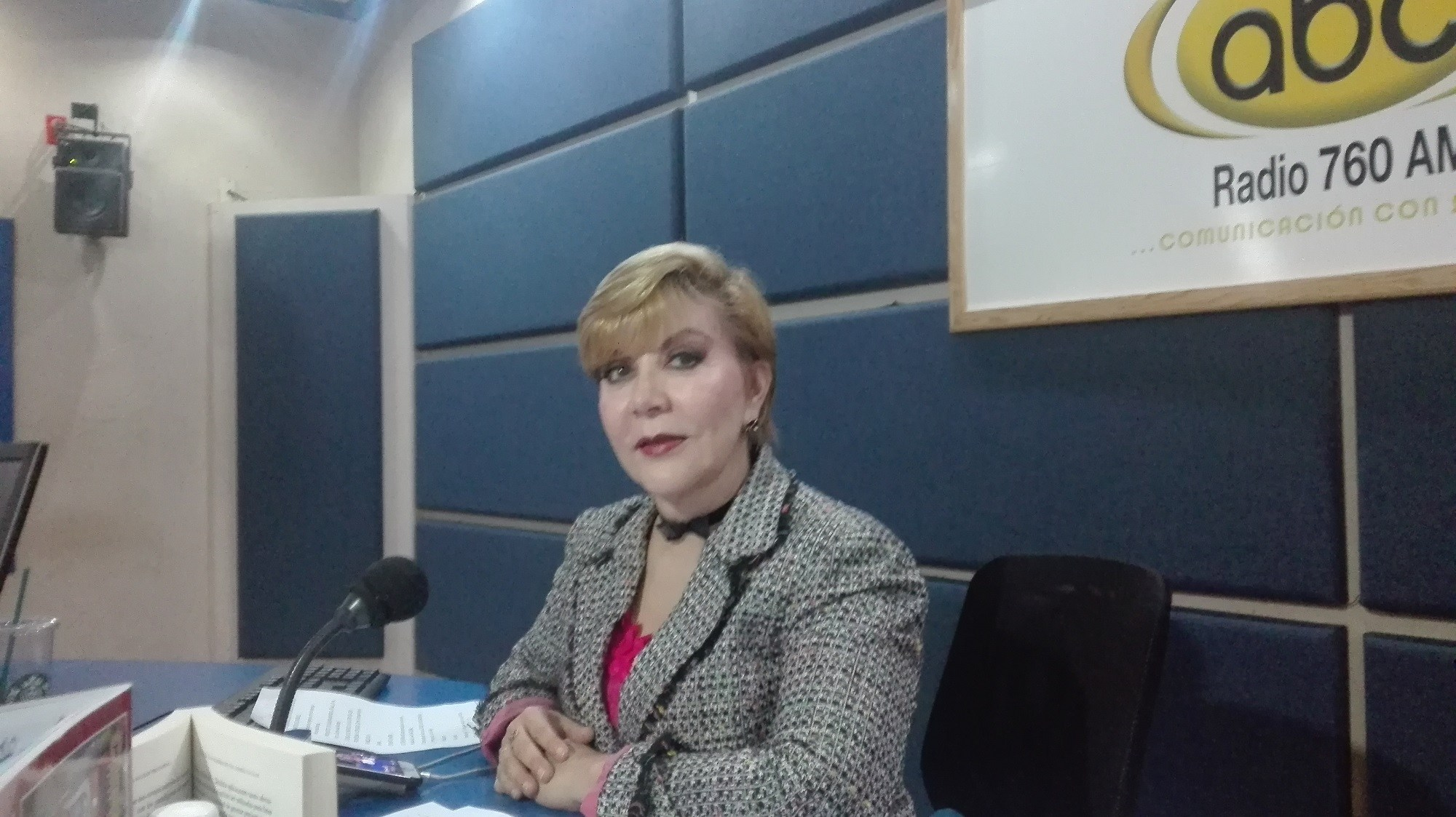 En entrevista exclusiva, la periodista Celeste Saénz de Miera, Directora y Conductora del programa Voces del Periodista