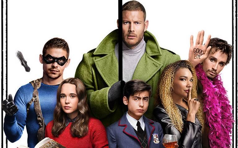 Netflix se inspira en cómic para The Umbrella Academy
