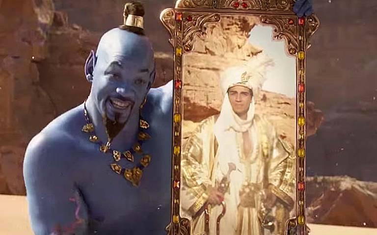 ¡Estrenan nuevo trailer de Aladdin y Will Smith se luce como el genio!