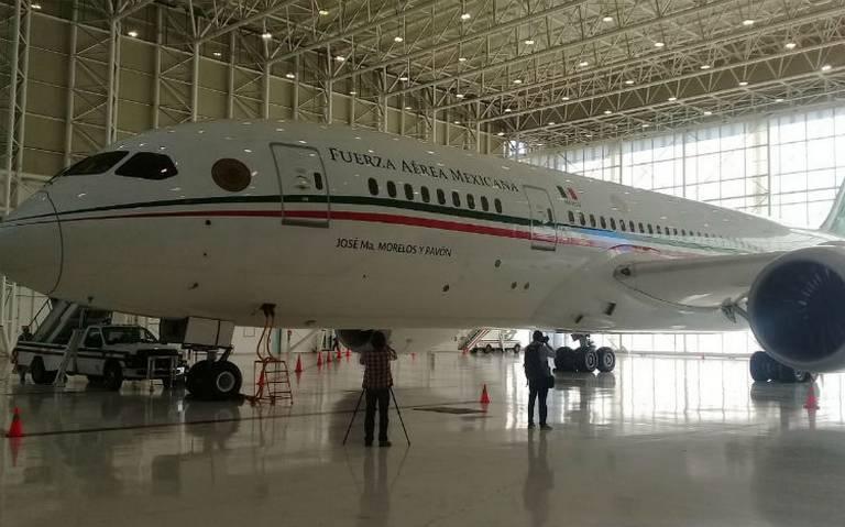 ONU publica oferta por avión presidencial