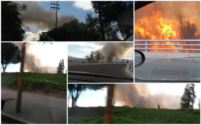 Otro incendio en Xochimilco; bomberos trabajan en controlarlo