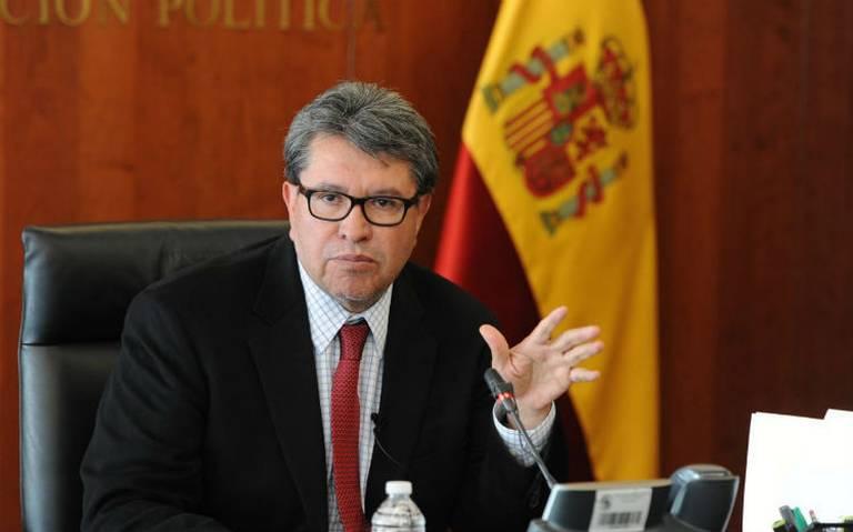 No se presentará iniciativa sobre calificadoras: Ricardo Monreal