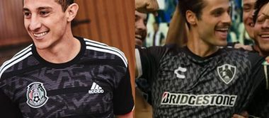 """[Video] ¿Selección Mexicana """"le copia"""" el uniforme a Club de Cuervos?"""