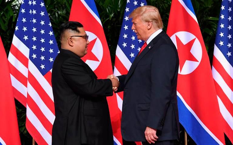 Kim expresa su voluntad de celebrar una tercera cumbre con Trump
