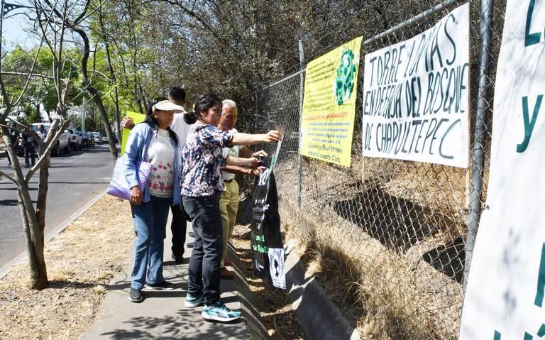 Alistan amparo para defender el Bosque de Chapultepec