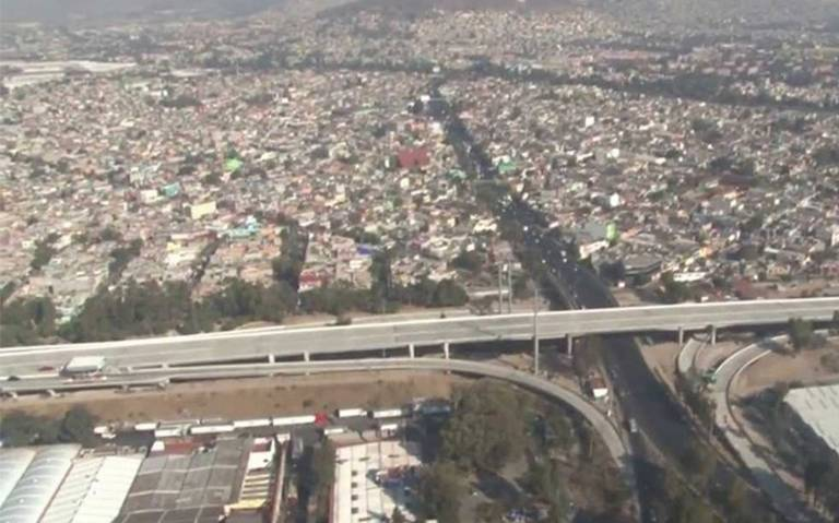 Ecatepec, Coacalco y Tláhuac amanecen con mala calidad del aire