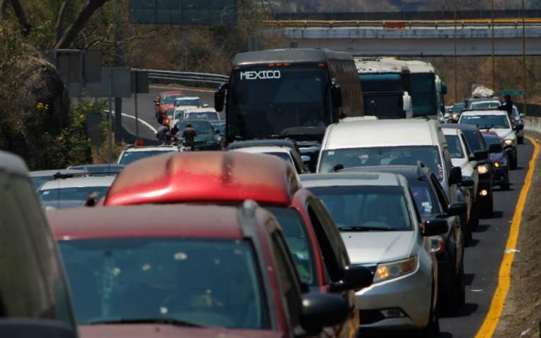 Autopista México-Puebla, por donde más conductores abandonan la ciudad