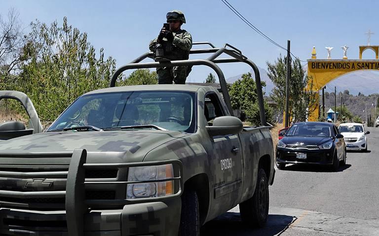 Militares se suman a operativo de Semana Santa en Zona Metropolitana