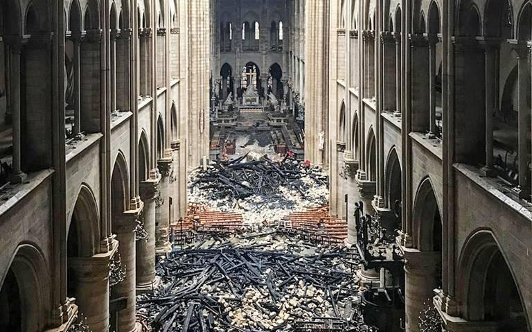 Notre Dame resurgirá de las cenizas