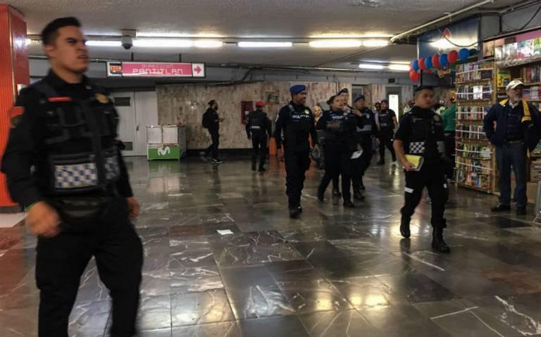 Detienen a hombre acusado de presunto abuso sexual en Metro Balderas