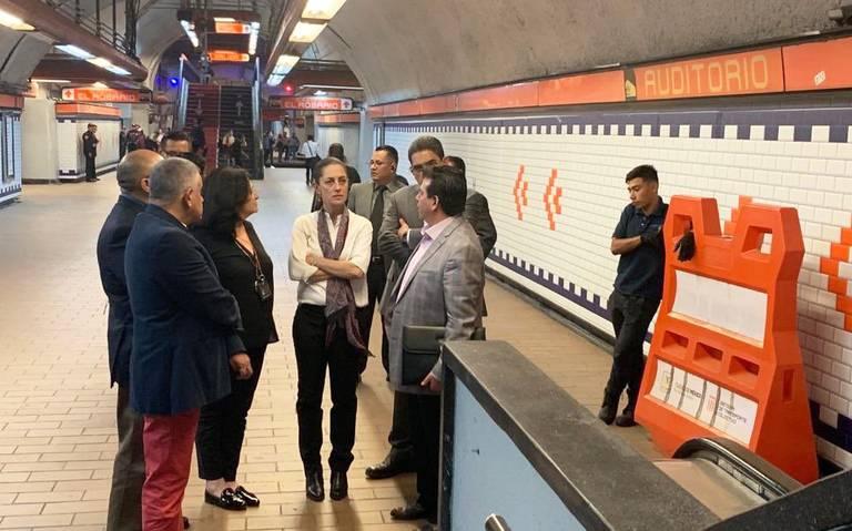 Se dará mayor presupuesto al Metro, afirma Sheinbaum
