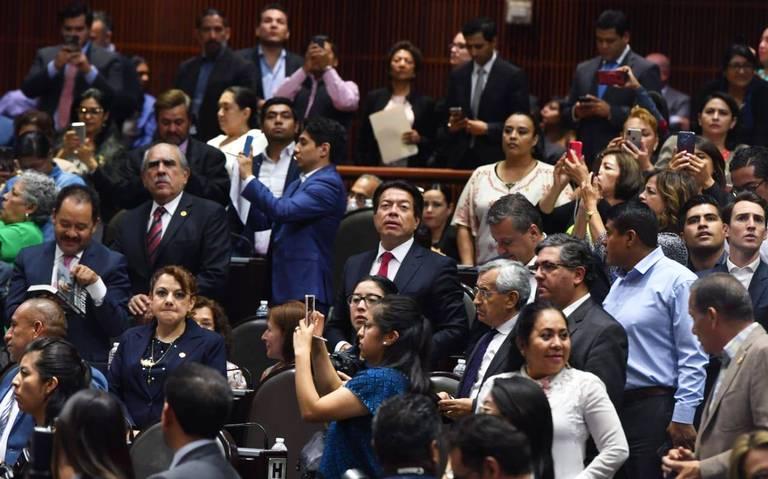 """""""Re-for-món"""", dice ufano Mario Delgado en San Lázaro"""