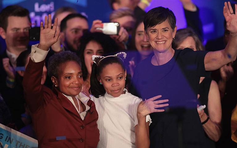 Chicago tiene a su primer alcaldesa afroamericana y lesbiana, Lori Lightfoot