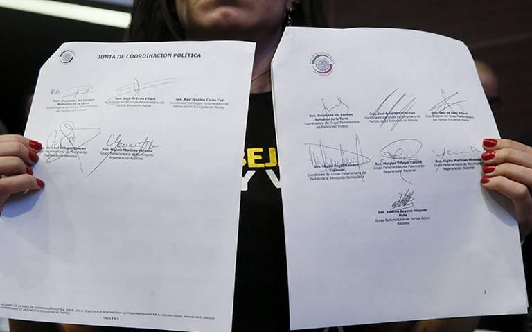 Senadora Sasil de León reitera que es verídica su firma sobre documento de CRE