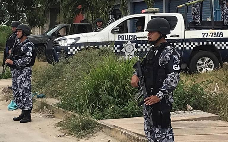 Guardia Nacional ya vigila Minatitlán tras masacre