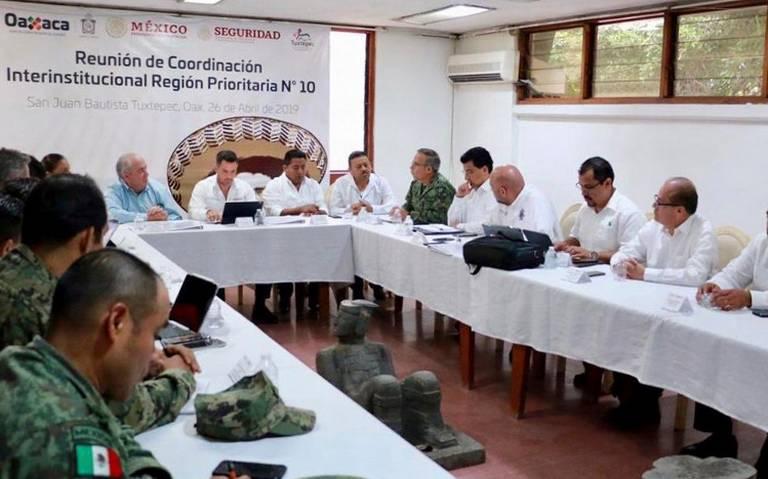 """Guardia Nacional también se """"estrena"""" en Oaxaca"""