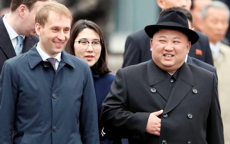 Kim Jong Un llega a Rusia en busca del apoyo de Putin