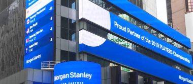Cae 8.9% utilidad de Morgan Stanley