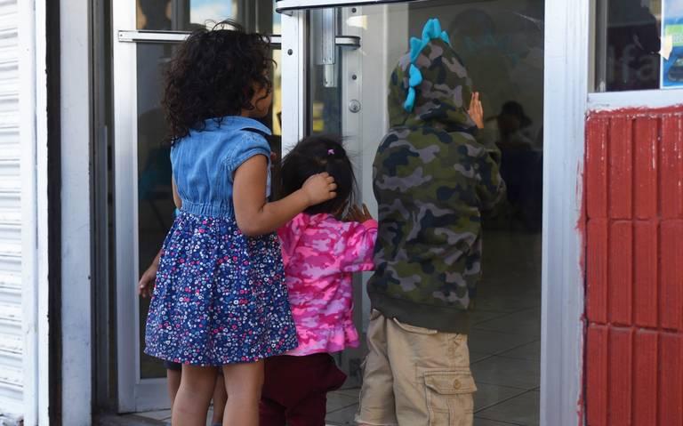 Los niños que también buscan el sueño americano