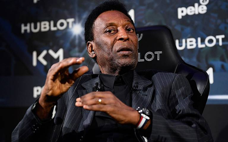 """Mejora la salud de Pelé, """"estoy listo para jugar de nuevo"""""""