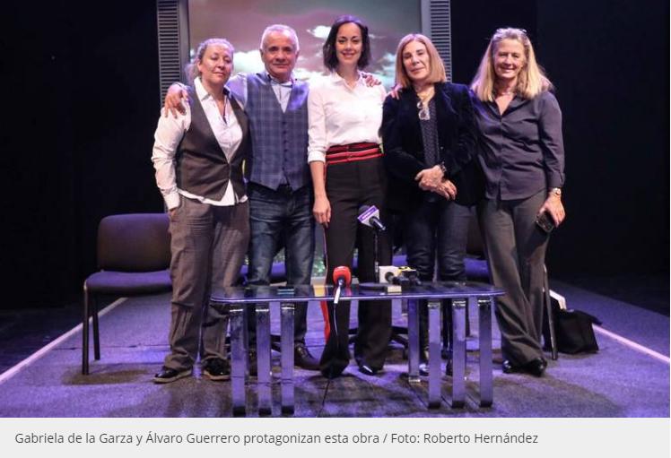 En medio del movimiento #MeToo, presentan Testosterona de Sabina Berman