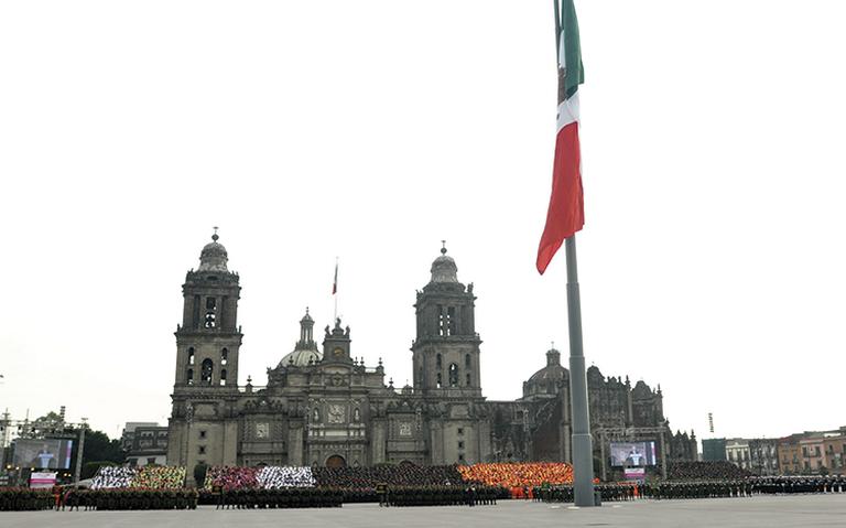 Fines de semana cerrarán circulación vehicular en Zócalo capitalino
