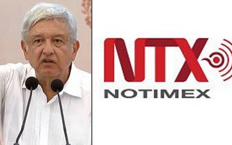 """Se dio un cambio""; AMLO descarta censura en Notimex"