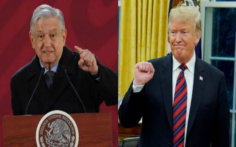 AMLO y Trump se han enviado cartas para tratar tema migratorio