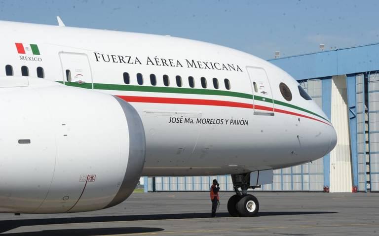 El Presidente de México da las gracias por comprar pedazos del avión presidencial