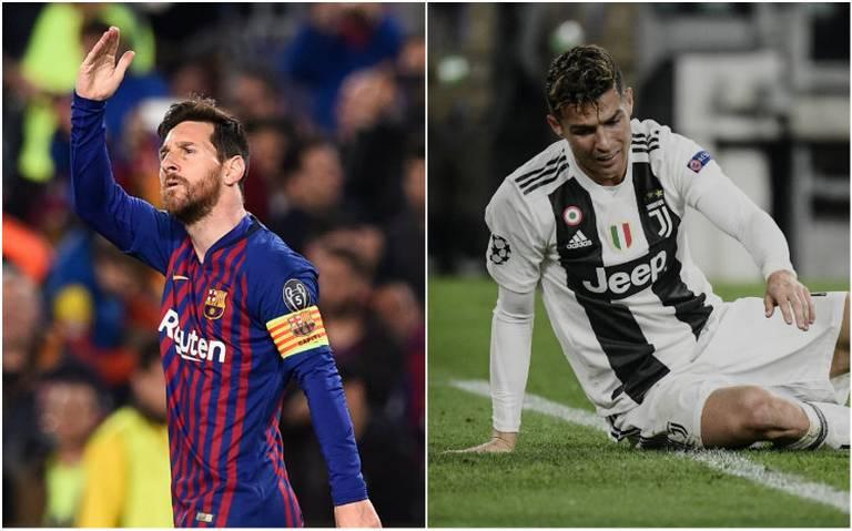 Messi a semis y CR7 eliminado de Champions League