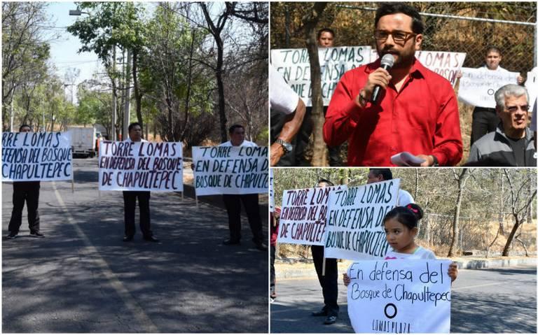 Anuncian estrategia para defender Tercera Sección de Chapultepec