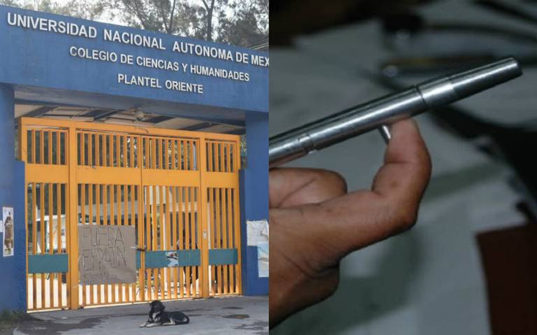 Pluma bala, el arma con la que habrían matado a Aideé en CCH Oriente