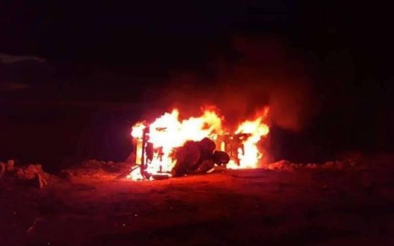 Varios heridos deja enfrentamiento entre taxistas y mototaxistas en Nochixtlán, Oaxaca