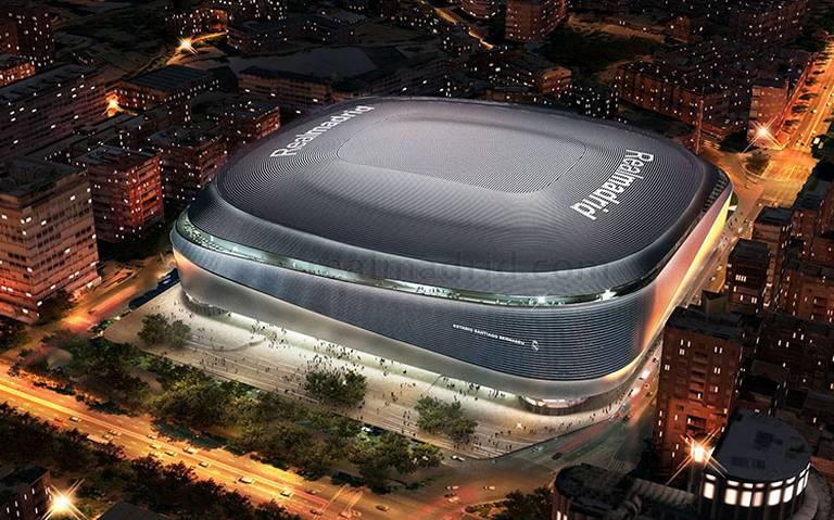 ¡Será impresionante! Así es como quedará el Santiago Bernabéu