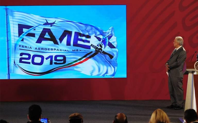 AMLO inaugurará hoy la Feria Aeroespacial México 2019