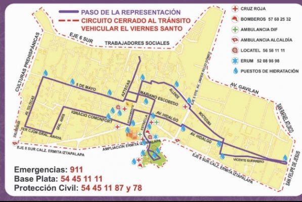 Habrá operativo de seguridad por Domingo de Ramos en Iztapalapa
