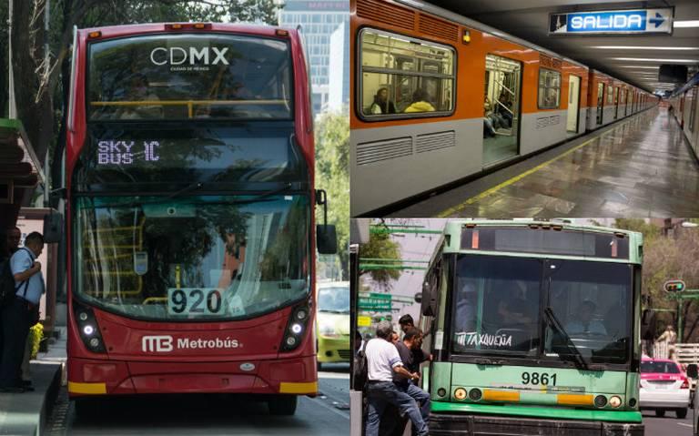 Metro, Metrobús y Trolebús… Checa aquí los horarios especiales por Semana Santa
