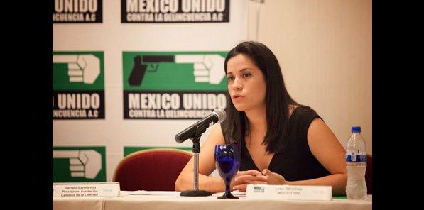 Entrevista con Lisa Sánchez,  Directora de México Unido contra la Delincuencia
