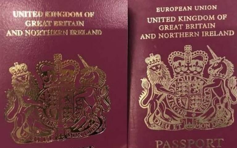 "Reino Unido elimina de sus pasaportes las palabra ""Unión Europea"""