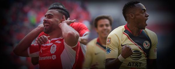 Toluca vs América, garantía de goles en el Nemesio Díez