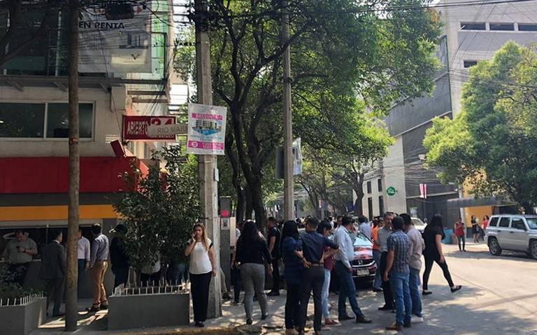 Sismo de magnitud 5.5 sacude a la CDMX