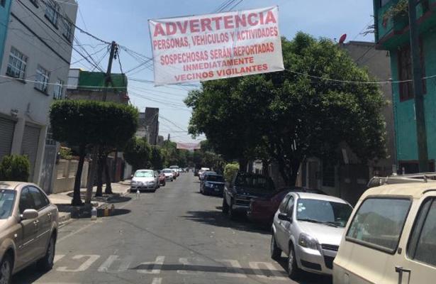 Advierten inseguridad en la Nueva Santa María, Azcapotzalco