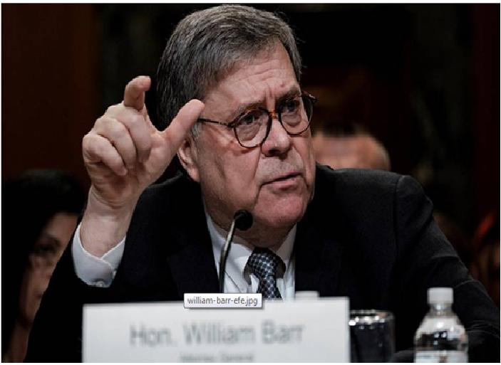 Trump no obstruyó la justicia en investigación sobre trama rusa: Fiscal