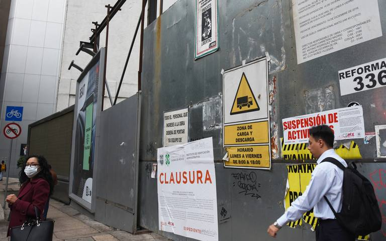 Suspensión de obras cuesta 3 mil empleos en la CDMX