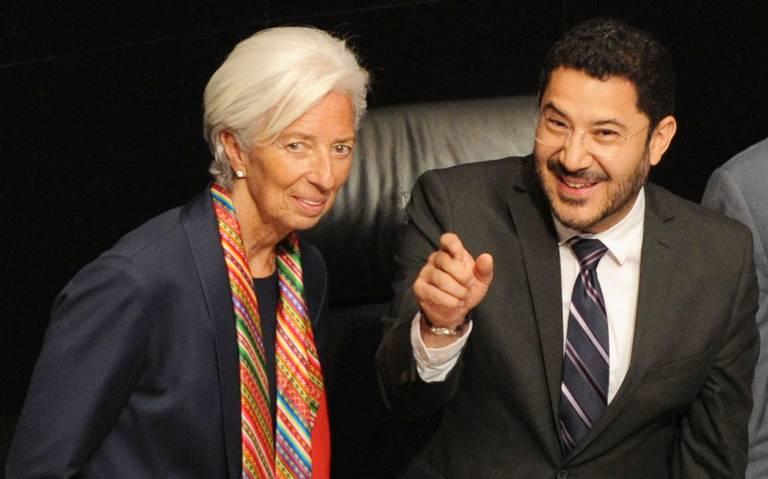 Lagarde pide a México fortalecer el crecimiento económico inclusivo