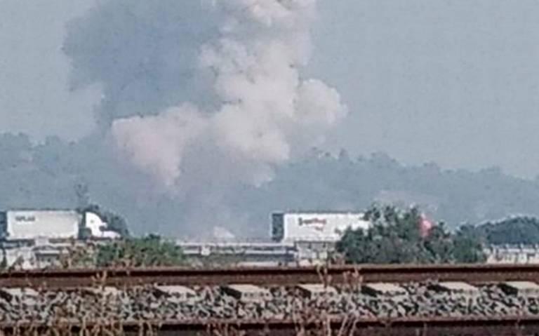 Explosión de polvorín en La Saucera, Tultepec, deja un muerto