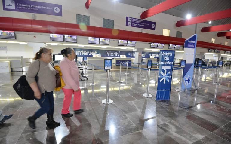 Aeropuerto de Toluca se queda sin viajeros