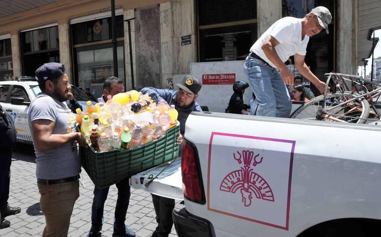 Ambulantes del Centro Histórico buscan voz en ordenamiento