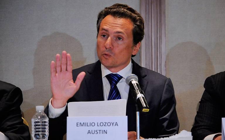 Conceden amparo a Emilio Lozoya para no ser detenido, por el momento